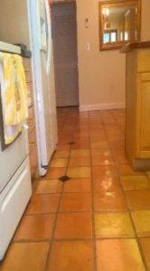 Spanish Terracotta Saltillo Tile Floor Sealing